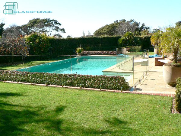 Swimming Pool Fencing Glassforce Structural Frameless Glass Experts Christchurch Nz