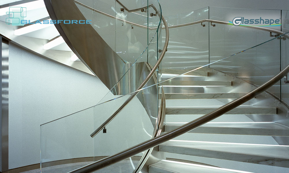 Curved Glass Glassforce Structural Frameless Glass